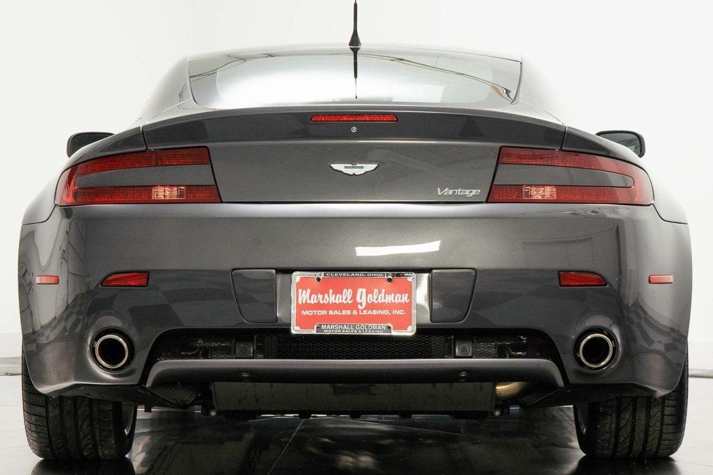 Used 2007 Aston Martin V8 Vantage For Sale Sold Marshall Goldman Motor Sales Stock W20587