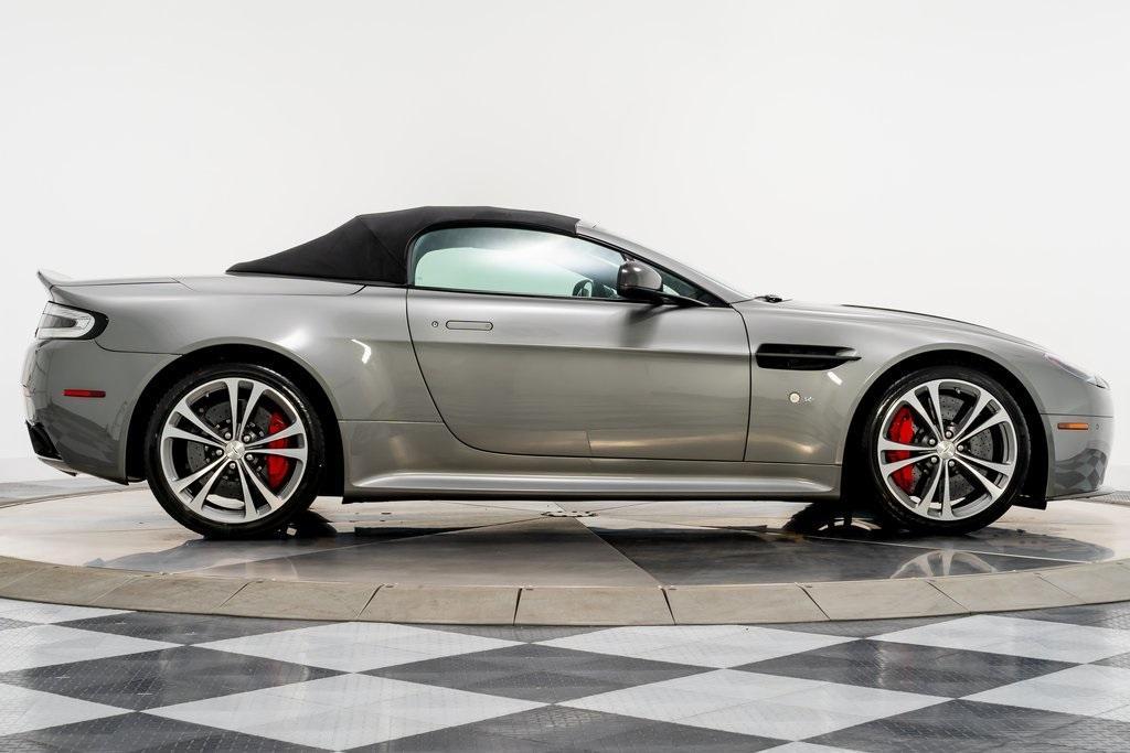 Used 2015 Aston Martin V12 Vantage S Volante For Sale Sold Marshall Goldman Motor Sales Stock 20171