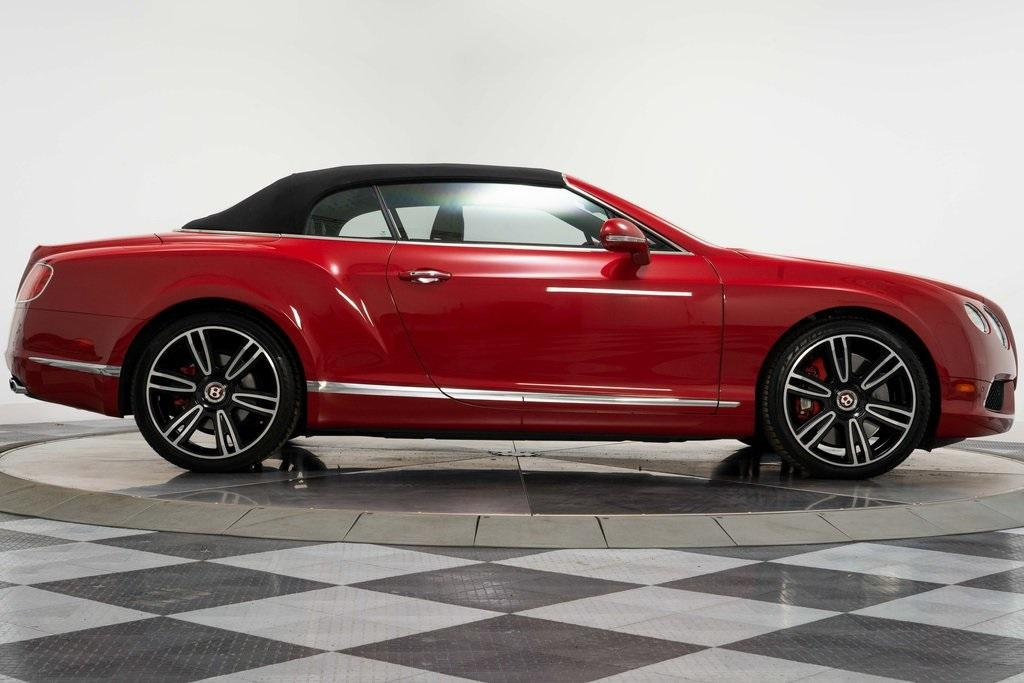 Used 2013 Bentley Continental Gtc V8 For Sale Sold Marshall Goldman Motor Sales Stock W20231