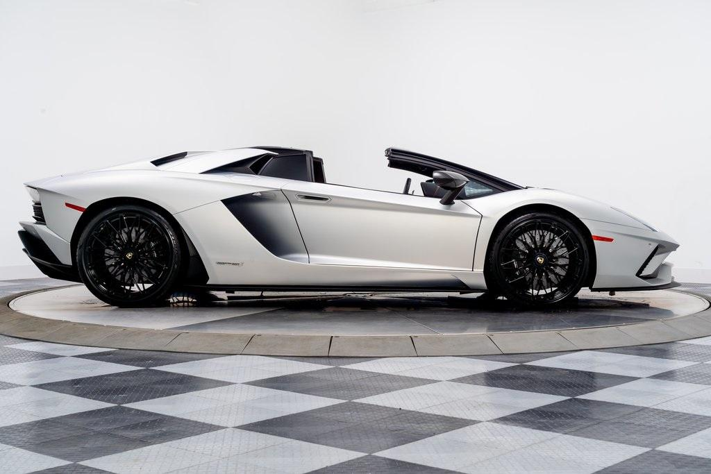 Used 2019 Lamborghini Aventador S Roadster For Sale Sold Marshall Goldman Motor Sales Stock W20405