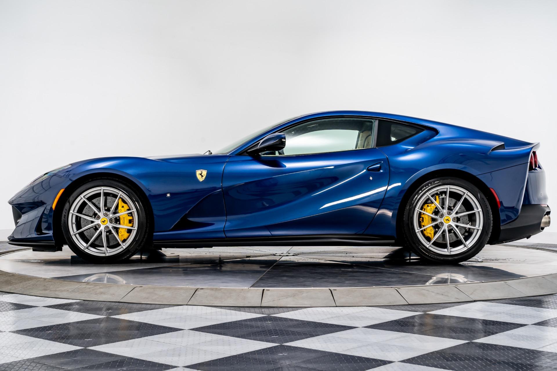 Used 2019 Ferrari 812 Superfast For Sale 449 900 Marshall Goldman Motor Sales Stock B21320