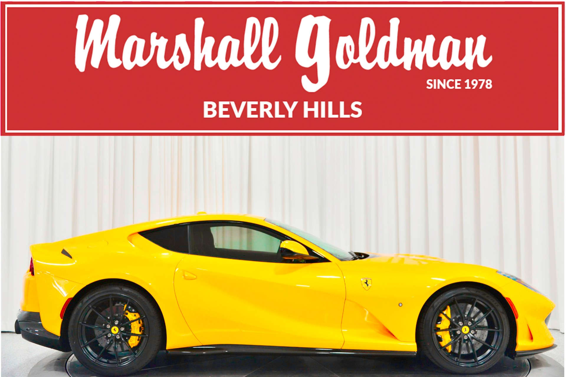 Used 2018 Ferrari 812 Superfast For Sale Sold Marshall Goldman Motor Sales Stock B20536