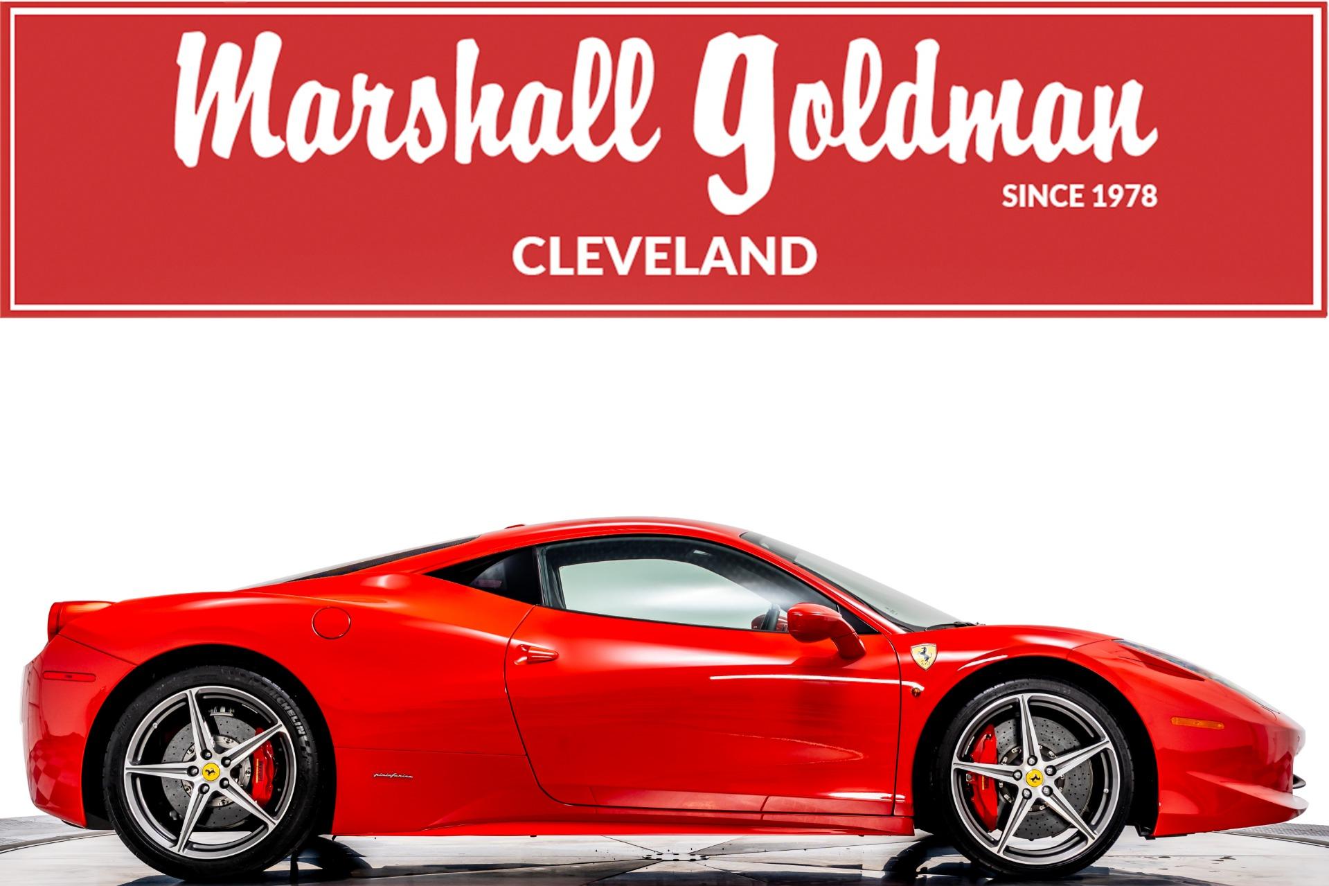 Used 2015 Ferrari 458 Italia For Sale Sold Marshall Goldman Motor Sales Stock W21023