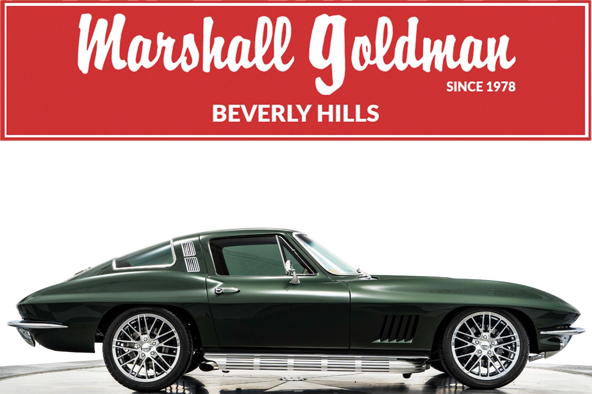 Used 1964 Chevrolet Corvette Restomod For Sale Sold Marshall Goldman Motor Sales Stock B21057