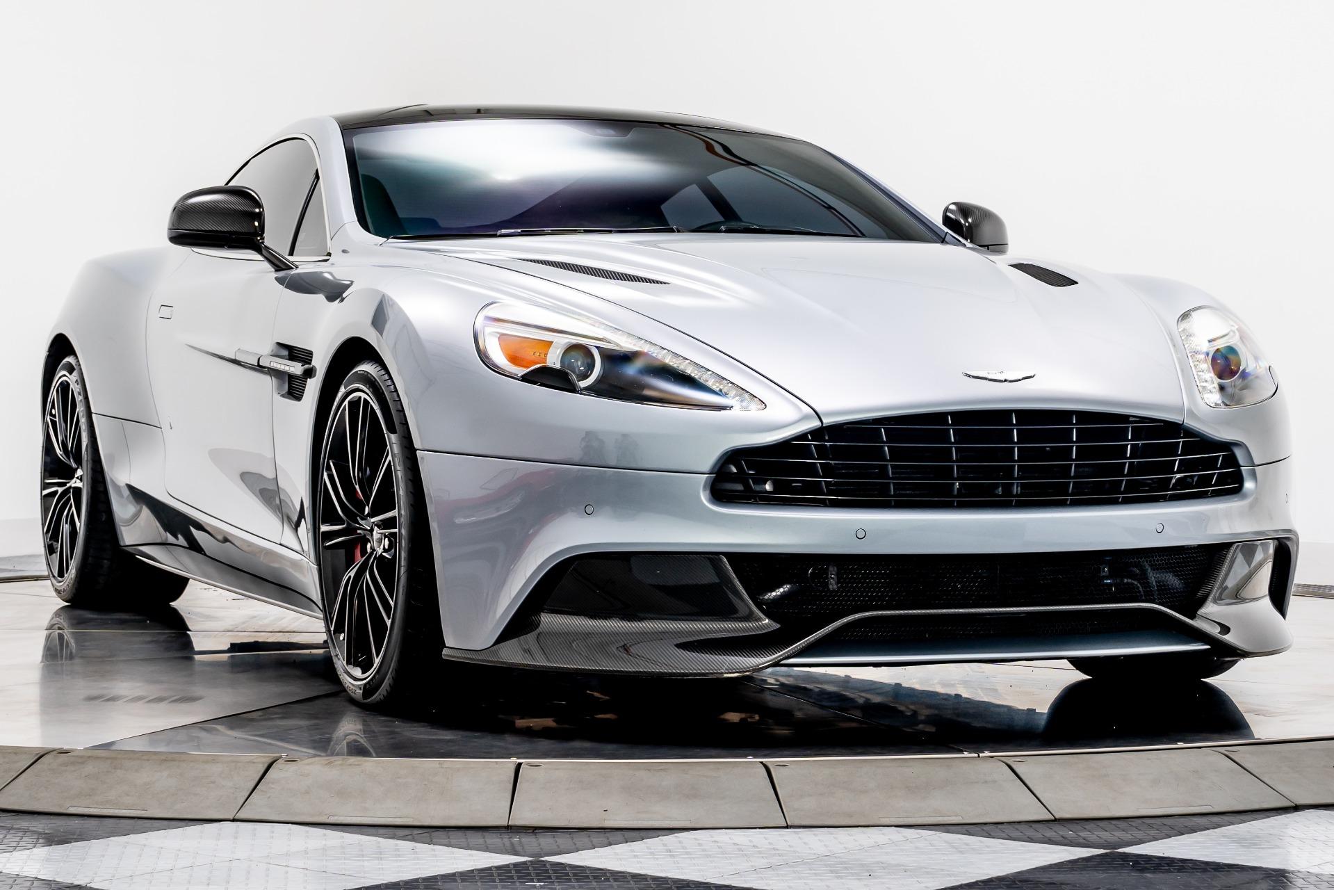 Used 2014 Aston Martin Vanquish For Sale Sold Marshall Goldman Motor Sales Stock W21155
