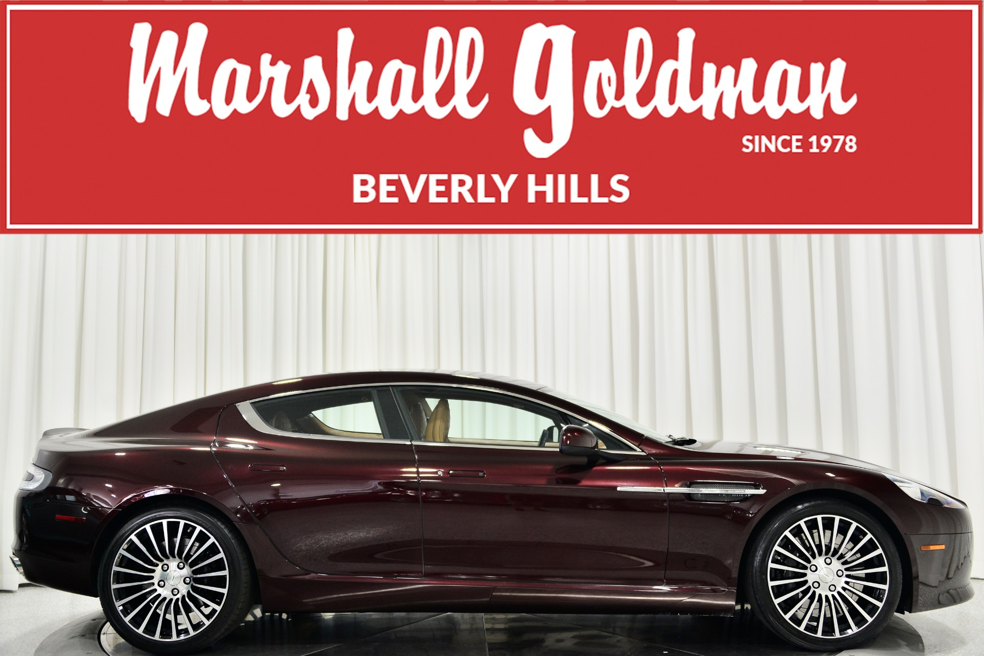 Used 2016 Aston Martin Rapide S For Sale Sold Marshall Goldman Motor Sales Stock B21138