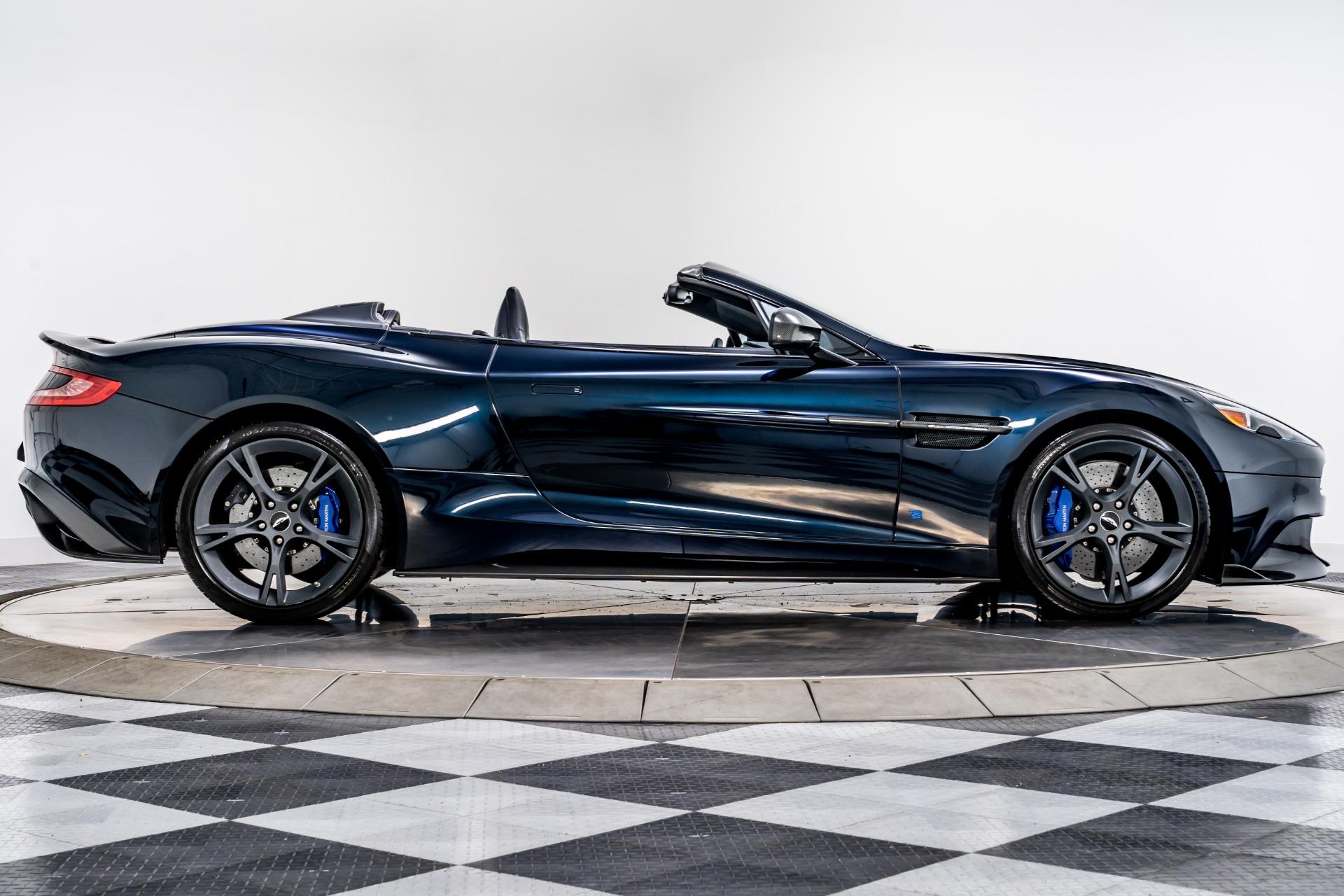Used 2018 Aston Martin Vanquish S Volante Tom Brady Signature Edition For Sale Sold Marshall Goldman Motor Sales Stock W21431